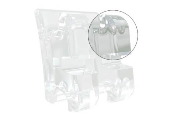Безопасность использования брекетов Inspire Ice