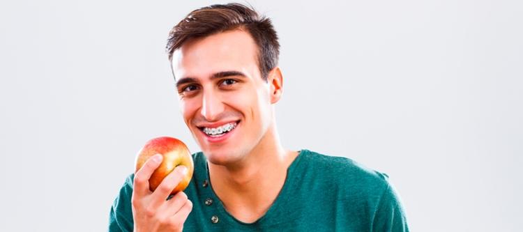 Примерный рацион питания во время ношения брекетов