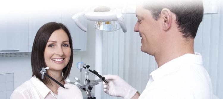 Применение лицевой дуги в ортопедии