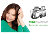 Брекет системы Mini Diamond