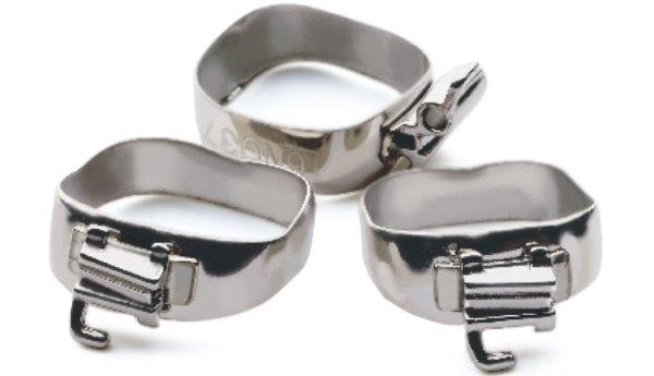 Сепарационные кольца перед брекетами